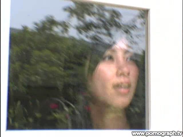 【JD】JDAV女優杏珠さんと長崎を旅して山の中でカーSEX!