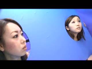 【H動画】 【アダルト動画】街角ドしろーと会話 身動き取れないドしろーと娘の顔の近くで4545ぶっこき